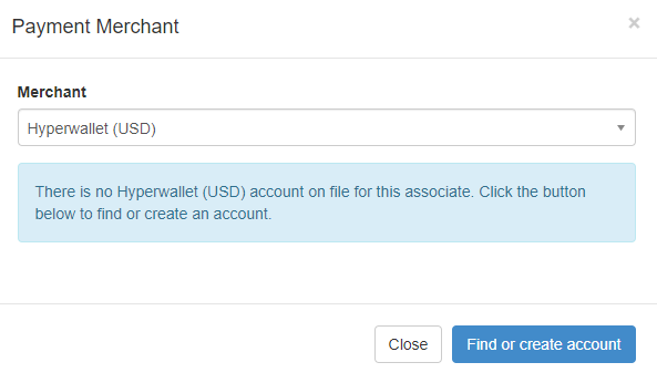 Payment Merchant alert