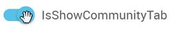 IsShowCommunityTab