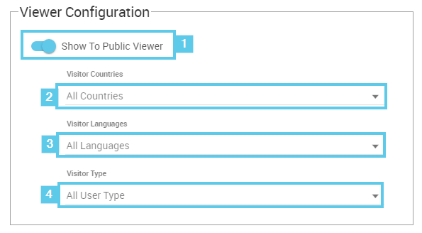 Viewer Configuration elements (Click to enlarge)