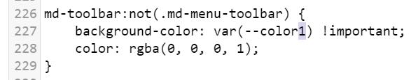 CSS testing change