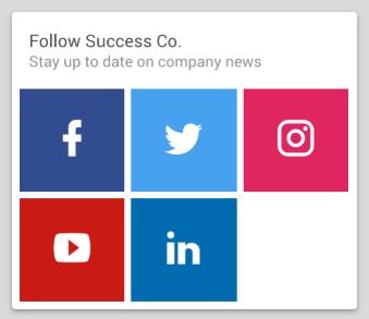 Home > Corporate Social Links widget